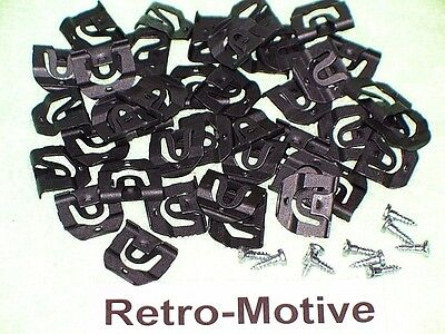 65 & Up Chevy Windshield Clips & Rear Window Clips GM 4533699 #116