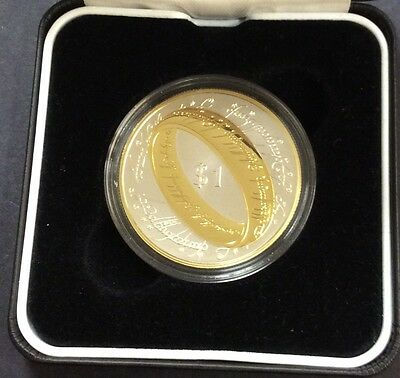2003 NZ lord of the rings silver proof coin