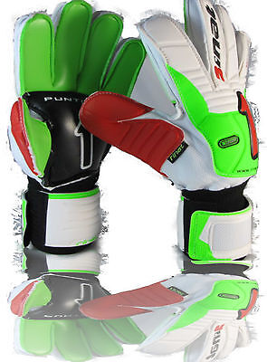 Rinat goalkeeper gloves (green size 8) Imperator Replica No finger protection