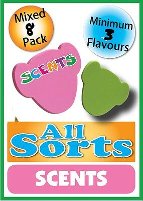 8 Pack of All Sorts Scents by Stufflers – Will fit in a Buildabear