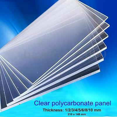 Clear Acrylic Precision Cut Sheets Polycarbonate For PMMA Thermo Plastic