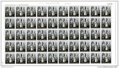 Trinidad and Tobago 1960/67 1c Sheet of 100 (sent folded) No 475 Mint MNH X2730