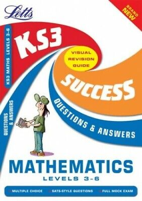 KS3 Maths Q&A Success Guides: Level 3-6: Levels 3-6 (Key Stage 3 Su... Paperback