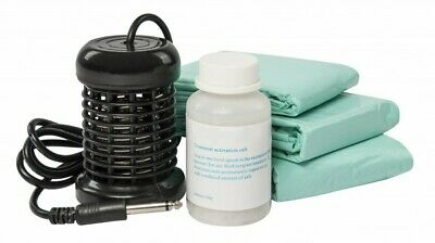 Consumption Set Refill Set Ion Cleanser with Coil, 30 Bags and Activation Salt