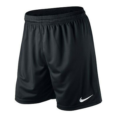 Black Nike Park Short - Dri Fit Adult - Sport Shorts Football Gym - Small To Xxl
