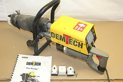 Demtech Pro-X4 Extrusion Welder High Output Extrusion Welder