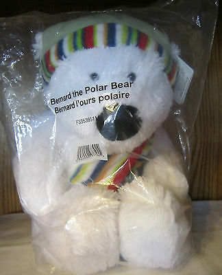 Avon Collectable Bear Bernard the Polar Bear Designed By Rikey for Russ