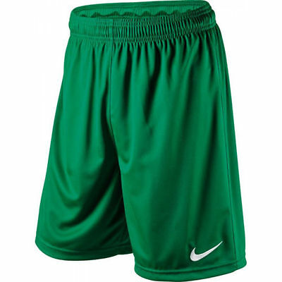 Green Nike Park Short - Dri Fit Adult - Sport Shorts Football Gym - Small To Xxl