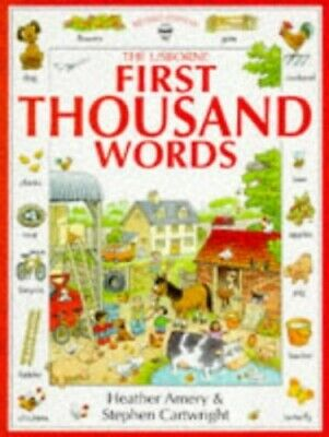First Thousand Words (Usborne First Thousand Words) by Amery, Heather Paperback