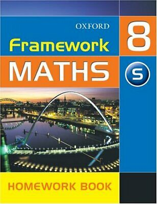 Framework Maths: Y8: Year 8 Support Homework Book: Support Homework... Paperback