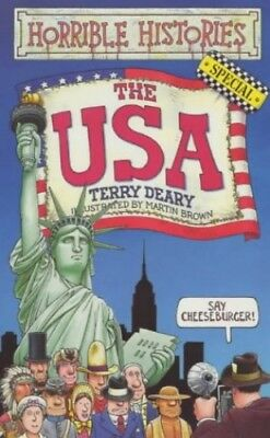 The USA (Horrible Histories Special), Deary, Terry Paperback Book The Cheap Fast