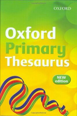 OXFORD PRIMARY THESAURUS by Rennie, Susan Hardback Book The Cheap Fast Free Post