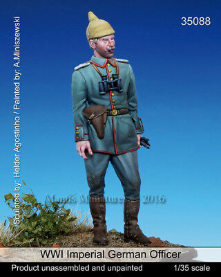 Mantis Miniatures 1:35 WWI Imperial German Officer - Resin Figure Kit #35088