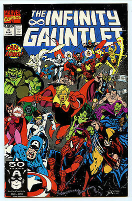 Infinity Gauntlet Issue # 3 Comic NM+ Marvel Comics 1991 The Thanos