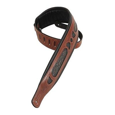 Levy's Leathers PM31-WAL 3-inch Leather Strap with Foam Pad,Walnut