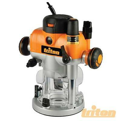 Triton Dual Mode Precision Plunge Router 2400W TRA001 Power Routing 330165