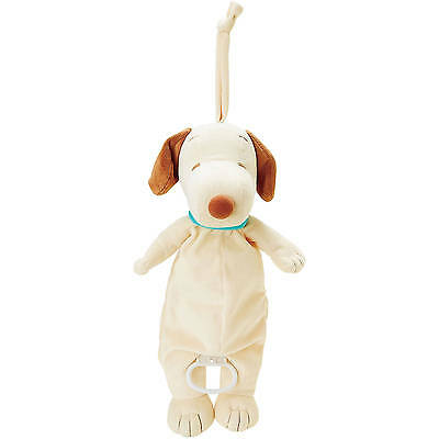 Peanut Snoopy Infant Pull Down Musical Plush