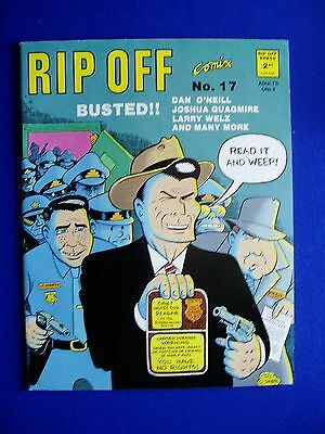 "Rip Off 17 ""Busted"":  Underground . Larry Welz, Frank Stack,"