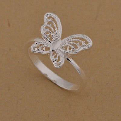 The shop Price reduction 925 silver new Butterfly Ring Fashion jewelry Fine gift