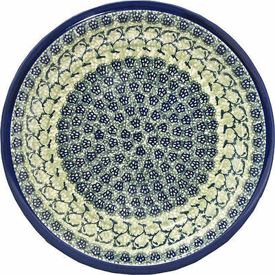 "Polish Pottery Dinner Plate 11"" GU1014/du41 from Zaklady Boleslawiec"