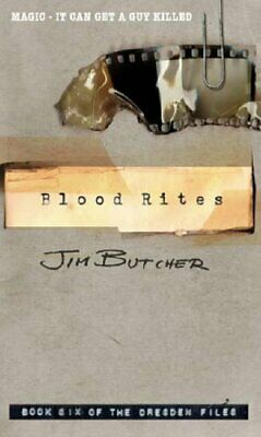 Blood Rites: The Dresden Files, Book Six by Butcher, Jim Paperback Book The