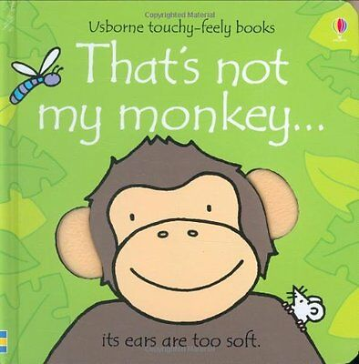 That's Not My Monkey, Watt, Fiona Board book Book The Cheap Fast Free Post