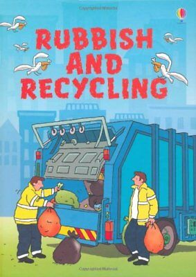 Rubbish and Recycling (Usborne Beginners), Turnbull, Stephanie Hardback Book The