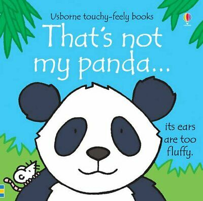 That's not my panda... by Fiona Watt Book The Cheap Fast Free Post