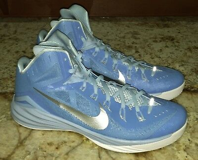 super popular c91f7 fb760 NIKE Hyperdunk 2014 Light Blue Silver Basketball Shoes Sneakers NEW Mens Sz  17