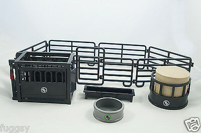 Big Country Toys 12 Piece Small Farm and Ranch Rodeo Set 1:20 Scale 420