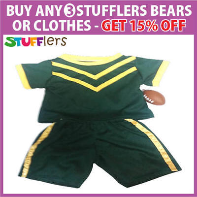 Football Clothing Outfit by Stufflers – Soft Bear Clothes