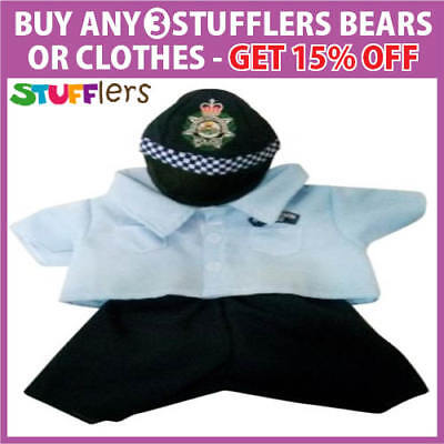 Police Clothing Outfit by Stufflers – Will fit on a Build a bear