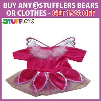 Pink Pixie Clothing Outfit by Stufflers – Will fit on a Build a bear