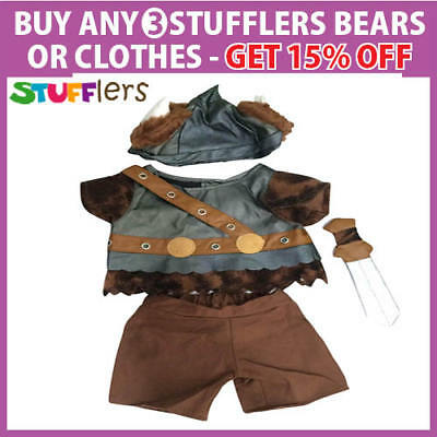Viking Clothing Outfit by Stufflers – Will fit on a Build a bear