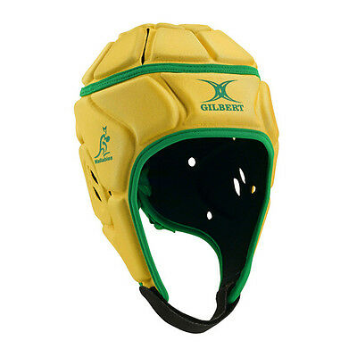 Gilbert Wallabies Head Gear (Gold/Green) + Free Delivery Australia Wide