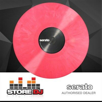 Serato Performance Vinyl: PAIR Pink Coloured