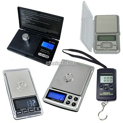 100g/0.01g  500g/ 0.1g Mini Digital Jewelry Scale Weight Electronic Pocket
