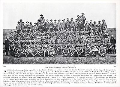 1900 Boer War North Somerset Imperial Yeomanry