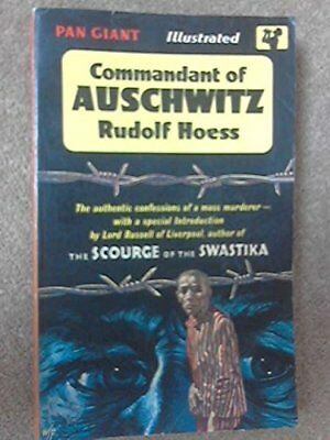 Commandant Of Auschwitz by Rudolf Hoess Paperback Book The Cheap Fast Free Post