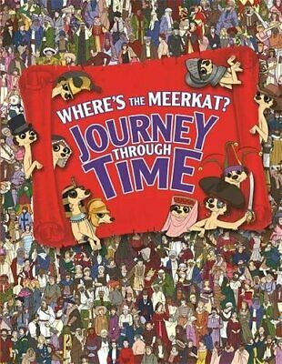 Where's The Meerkat? Journey Through Time by Moran, Paul Book The Cheap Fast