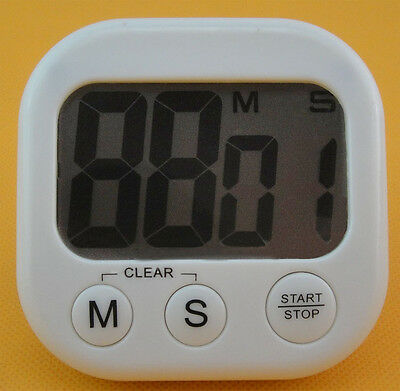 Electronic Large LCD Count Down Up Kitchen Cooking Alarm Timer Clock Stopwatch