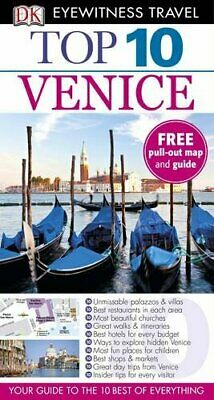 DK Eyewitness Top 10 Travel Guide: Venice by DK Book The Cheap Fast Free Post