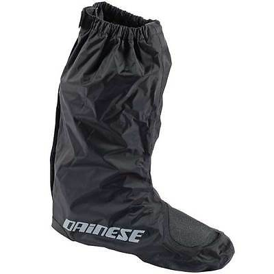 Dainese D-Crust Waterproof Motorcycle Motorbike Overboots Black   All Sizes