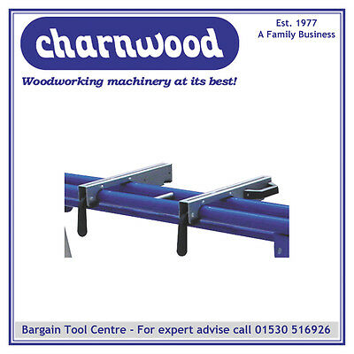 Charnwood W215/1 Pair of Quick Action Clamps For W212 & W215 Mitre Saw Stands