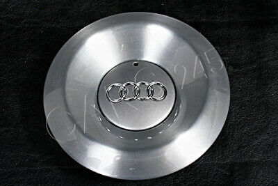 "Genuine 15"" Alloy Wheel Center Hub Avus Silver Cap x1 Fits AUDI A2 2000-2005"