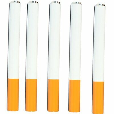 Metal Cigarette Reusable Pack of 5 (3 inch)
