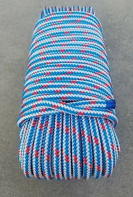 "1/2"" x 150' Arborist tree climbing rope 16 strand braided !! FREE SHIPPING !!"