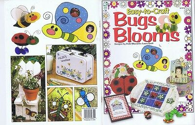 Childrens Crafts Easy Bugs Bloom Flower Pot Chair Plant Pokes Tic Tac Toe Frames