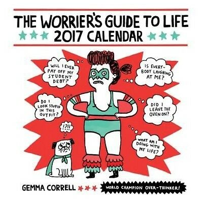 Worrier's Guide to Life by Gemma Correll Wall Book (English)