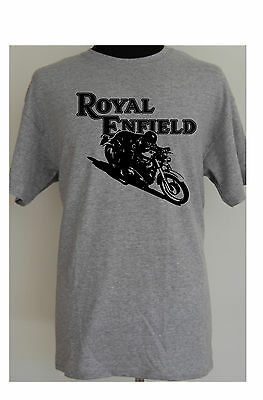 ROYAL ENFIELD CAFE RACER - motorcycle t-shirt - S to 5XL